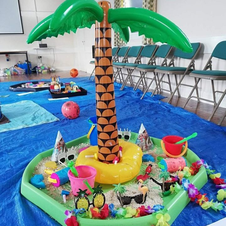 Messy Play Themes - At The Beach