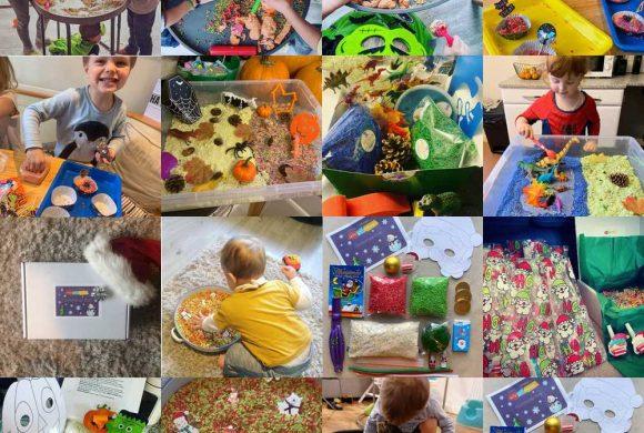 Messy Play Box Photos