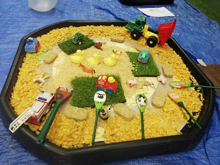 Messy Play Themes - Construction