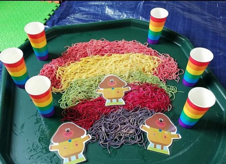 Messy Play Themes
