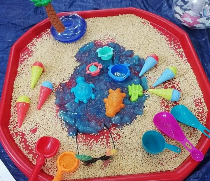 Messy Play Themes - Under the sea