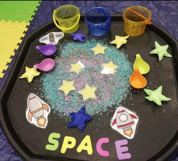 Messy Play Themes - Space