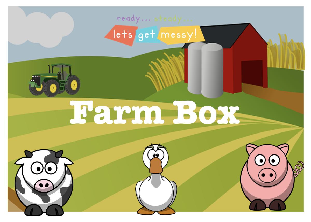 Farm Messy Play