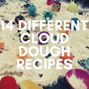 14 Different Cloud Dough Recipes