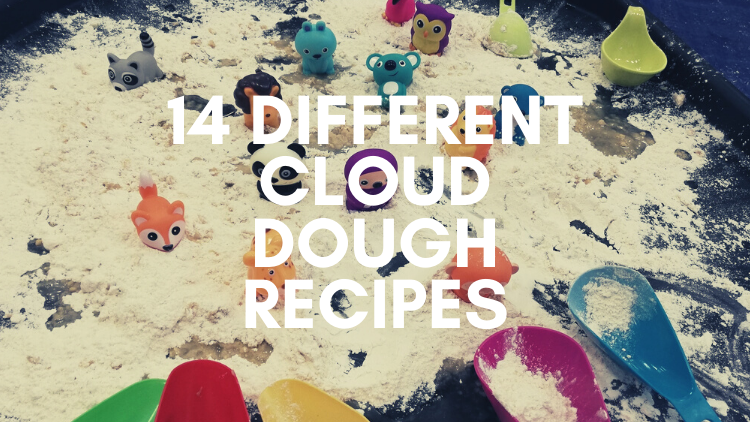 14 Different Cloud Dough Recipes